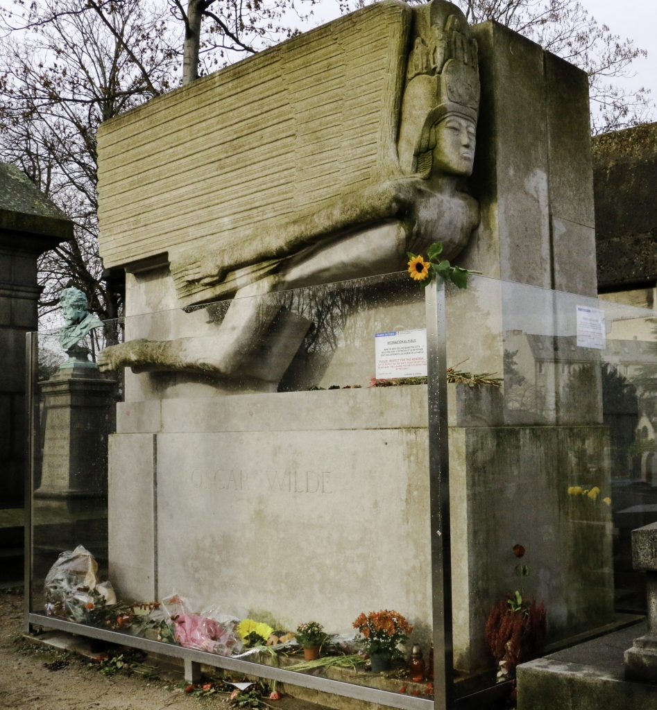 Jacob Epstein's Sculpture at the Grave of Oscar Wilde
