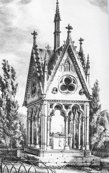 Tomb of Héloïse and Abélard