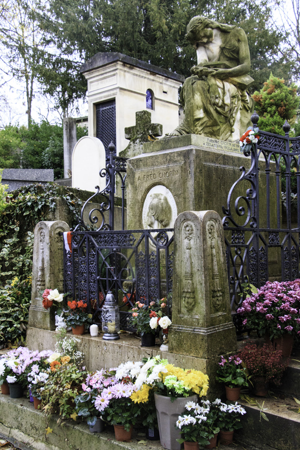 Grave of Frédéric Chopin