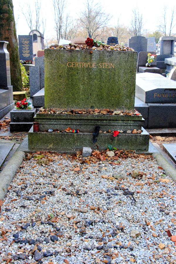 Grave of Gertrude Stein