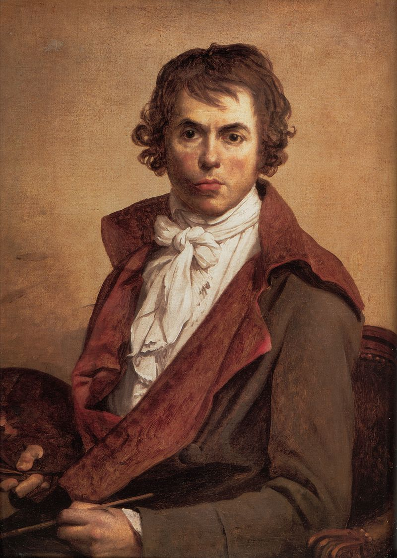 Jacques-Louis David: Self-Portrait