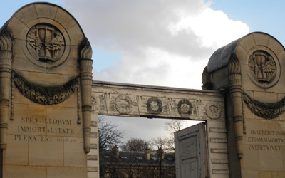 Entry Gates of the Cemetery