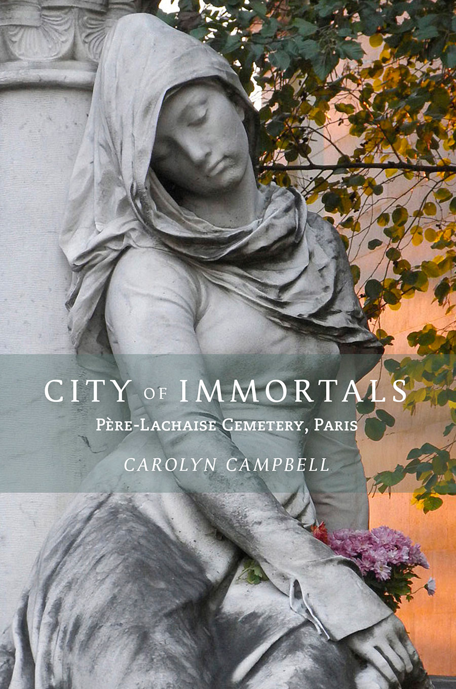 Front cover of City of Immortals Book book by Carolyn Campbell