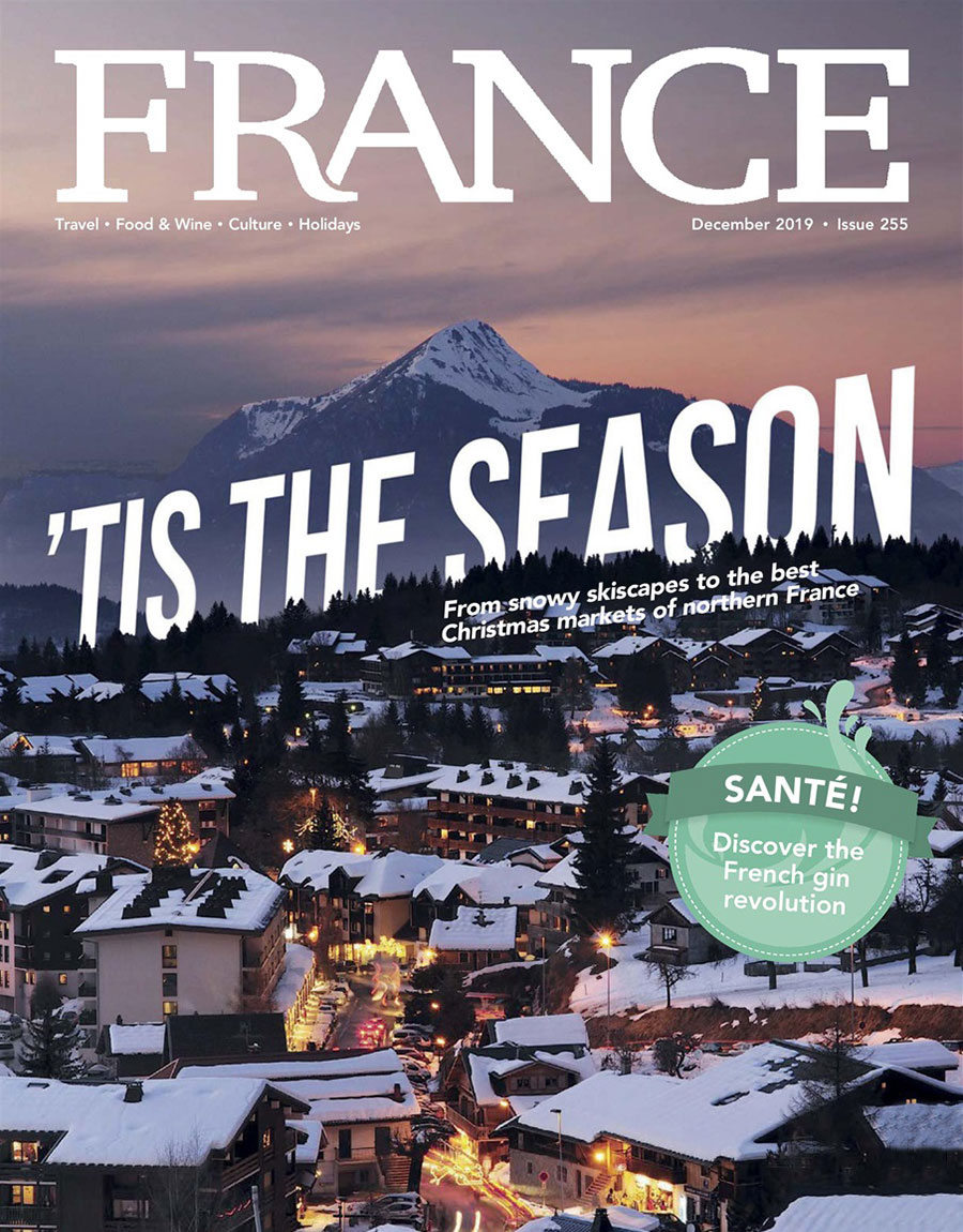 Cover of December 2019 France Magazine