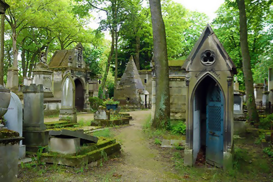 Père-Lachaise mausoleums
