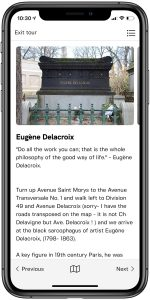 City of Immortals GPS Tour Delacroix Page - English